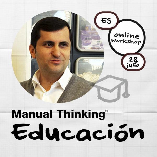manual thinking educacion workshop