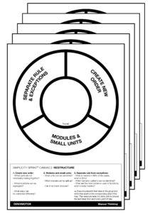 Manual Thinking Simplicity Sprint plantillas